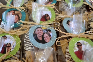 Personalized Favor Tags via Cocina Marie
