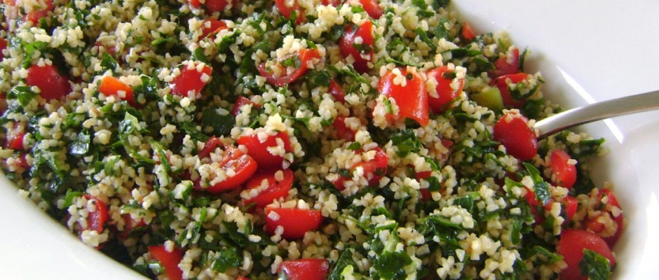 On the Mediterranean Diet: Tabbouleh Salad