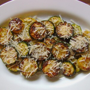 Sautéed Summer Squash with Parmesan