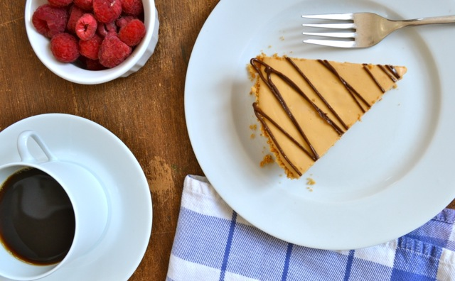Dulce De Leche Icebox Cheesecake Pie