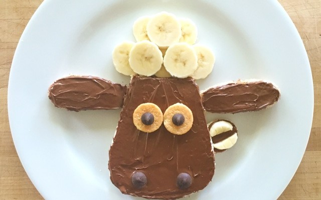 Summer Fun: Food Art & Shaun the Sheep