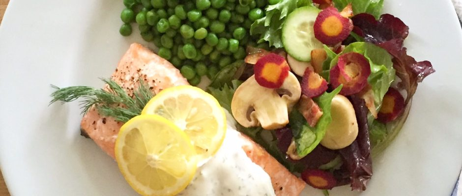 Weekly Meal Plan: Salmon Dinner