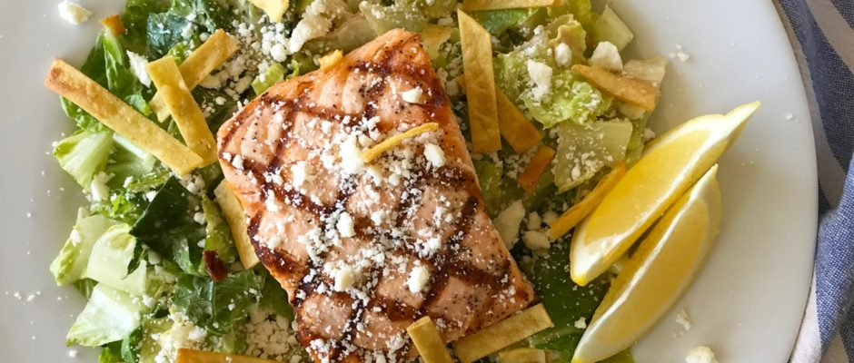 Chipotle Caesar Salad with La Vaquita Queso Fresco